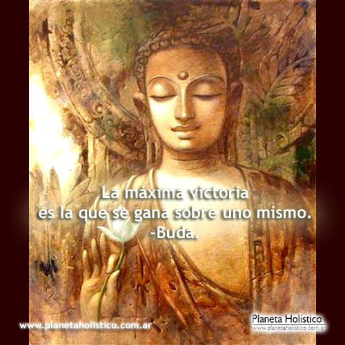 Frase de Buda - La máxima victoria