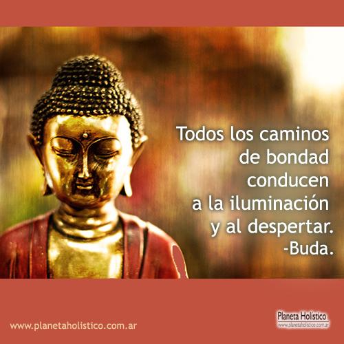 Frase de Buda - Todos los caminos de bondad